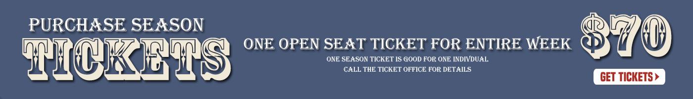 2021 Season Ticket Banner